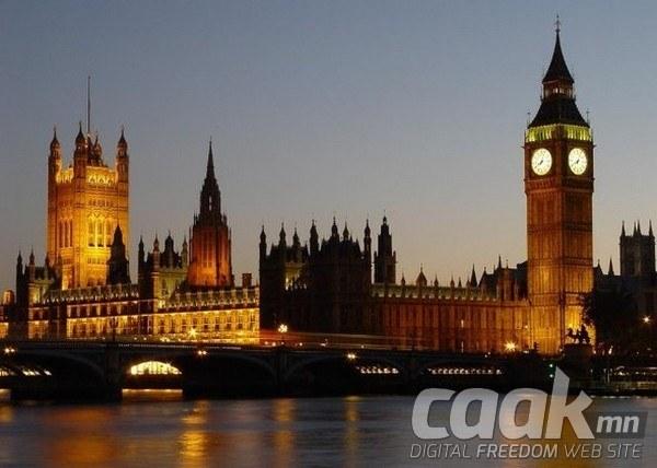 Биг Бен - Лондон дахь цагтай цамхаг