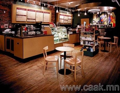 Starbucks мэт харилцааны нөхцлийг бүрдүүл
