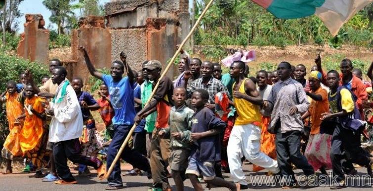 Бурунди: гүйлт