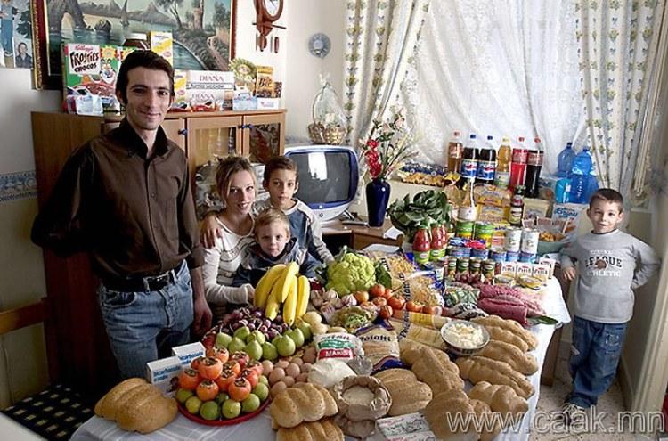 Итали: Сицильд амьдардаг Манцо-гийн гэр бvл
