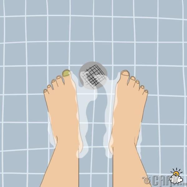Хөлөө сайн угаадаггүй