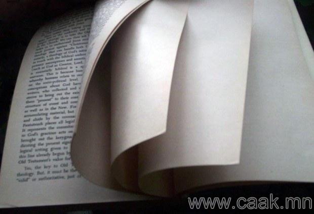 Номонд хоосон хуудас ямар хэрэгтэй вэ?