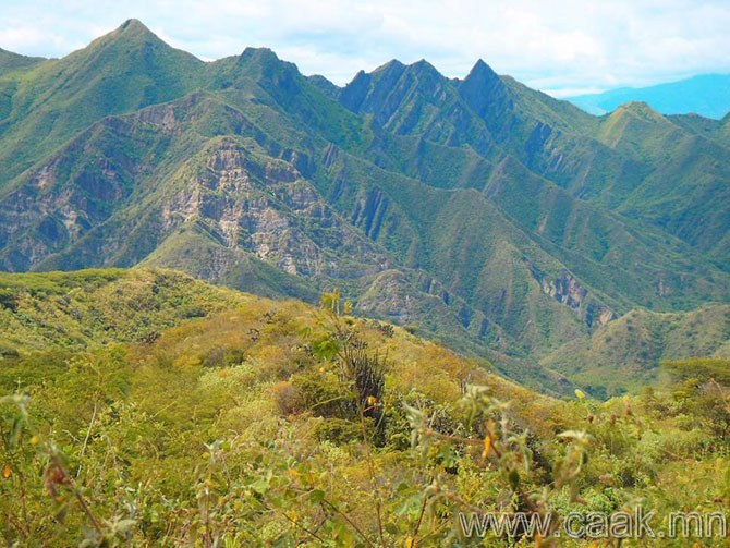 Колумбын хойд хэсгийн уулс