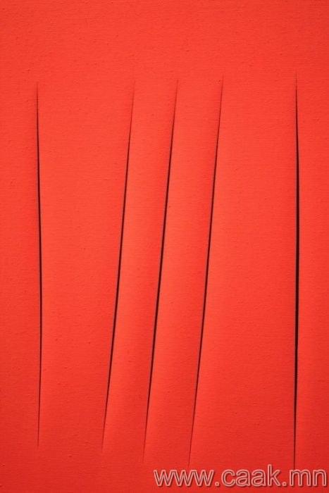 """""""Байрлалын концепт"""", зураач Лучо Фонтан - $1 500 000"""