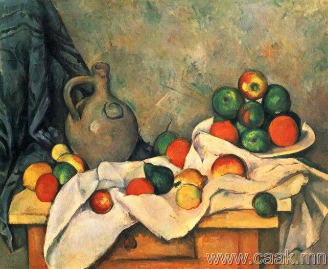 Поль Сезанн — лонх болон тавагтай натюрморт (1893-1894)