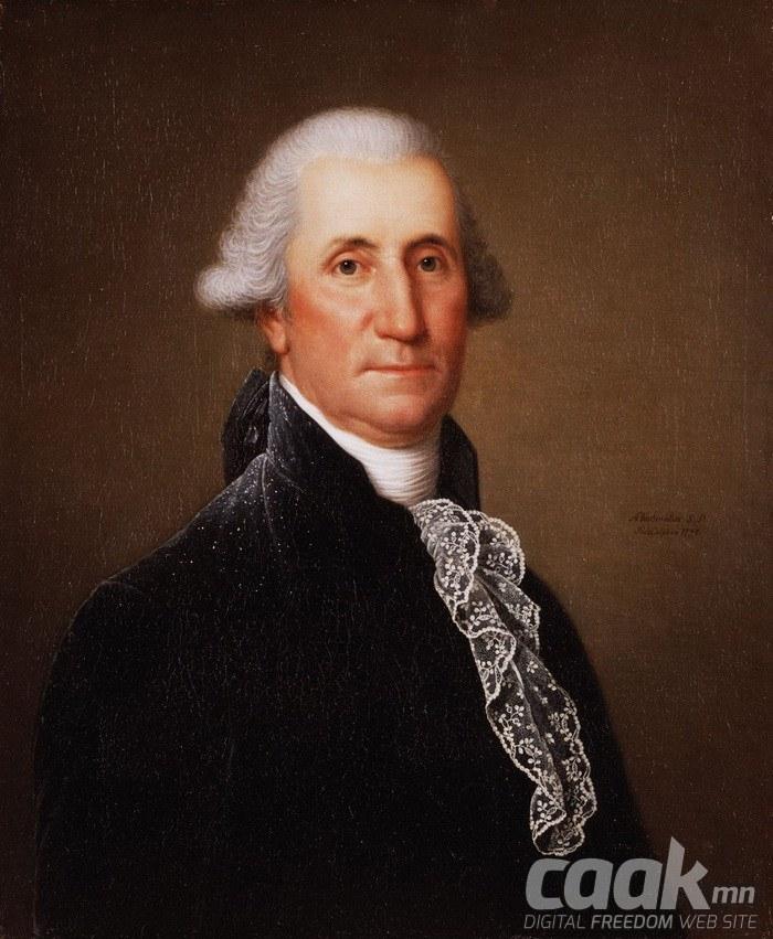 АНУ-ын анхны ерөнхийлөгч Жорж Вашингтон биш гэнэ.