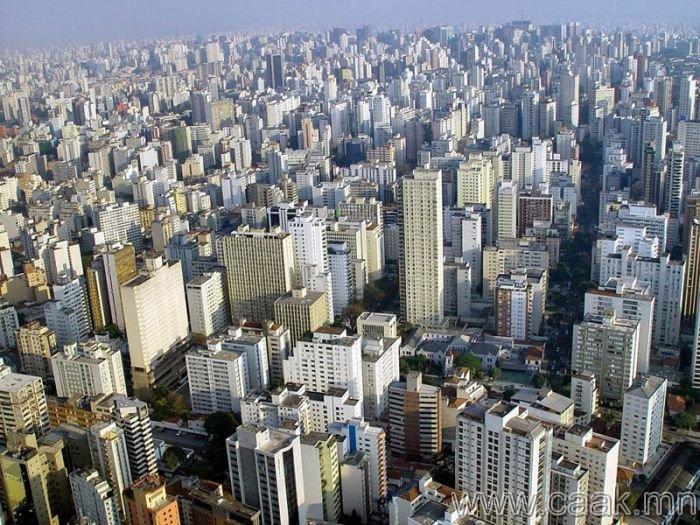 Сан-Паулу. Бразил - 5,667 ширхэг єндєр барилгатай