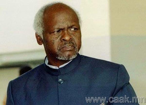 Канаан Банана. Зимбабве. 1997 он