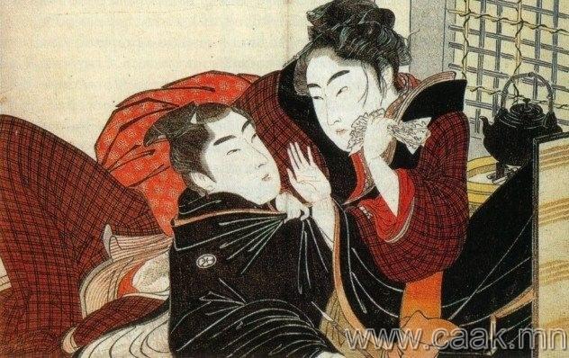 Ижил хүйстэн самурай