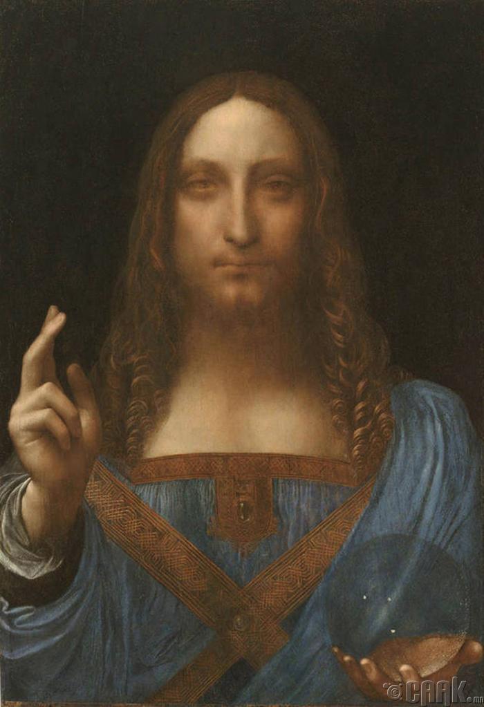"""Salvator Mundi"" - 127,500,000 доллар"