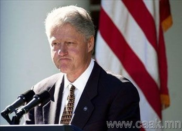 Билл Клинтон. АНУ. 1995-1997 он.