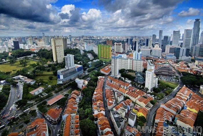 Сингапур - 4,368 ширхэг єндєр барилгатай