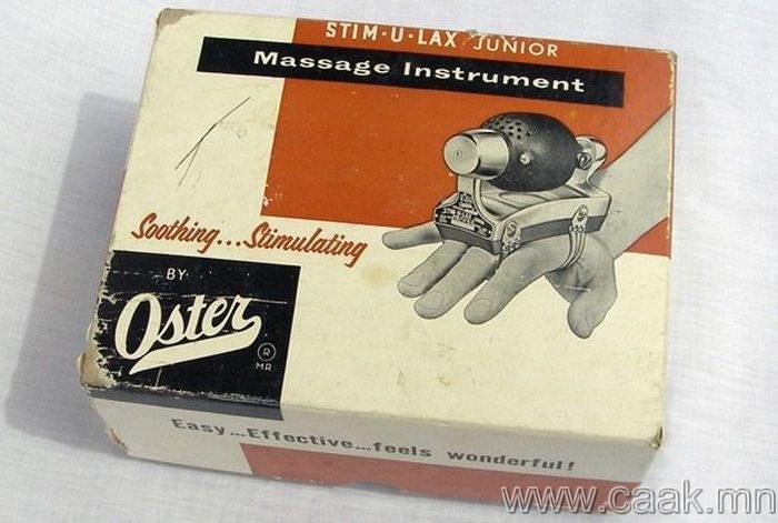 Үсчингүүдэд зориулсан Oster Stim-u-lax for Barbers, 1948 он.