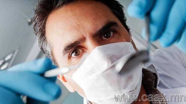 Шүдний эмчээс айх айдас