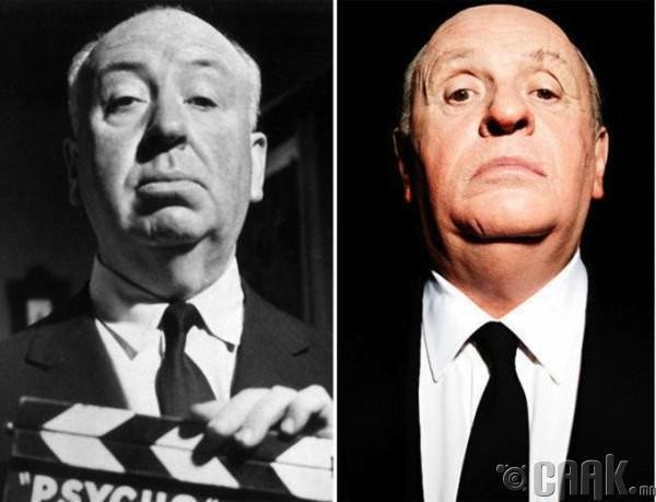 "Альфред Хичкок (Alfred Hitchcock)- жүжигчин Энтони Хопкинс (Anthony Hopkins) """"Hitchcock"""
