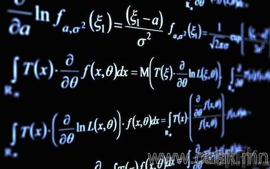Математикийн тоог шууд бодох