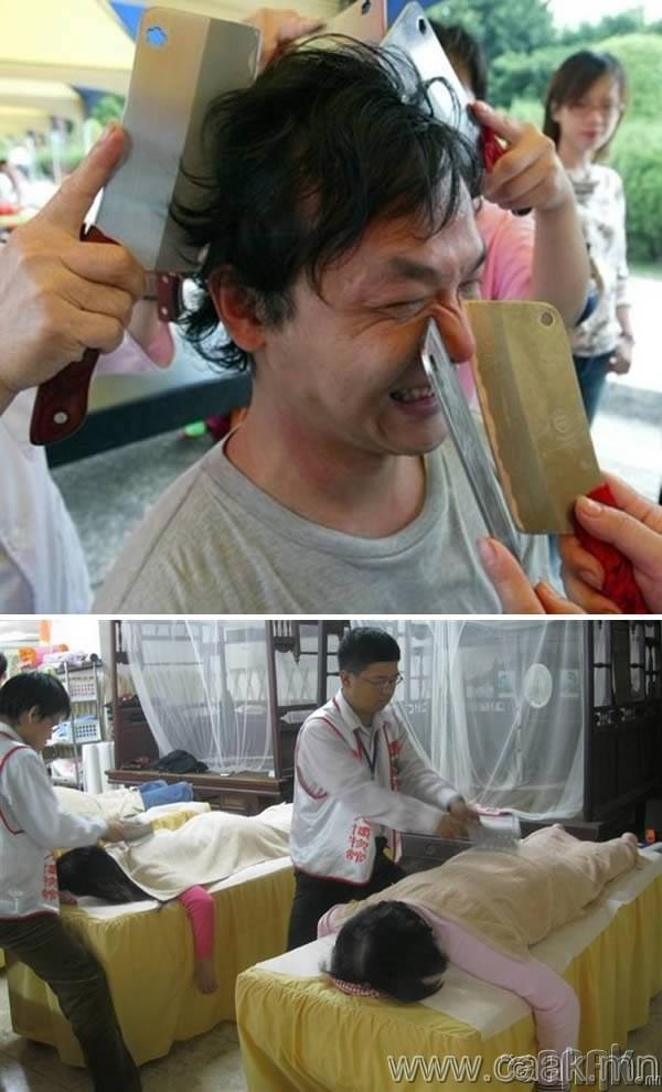 Мах цавчигчийн массаж
