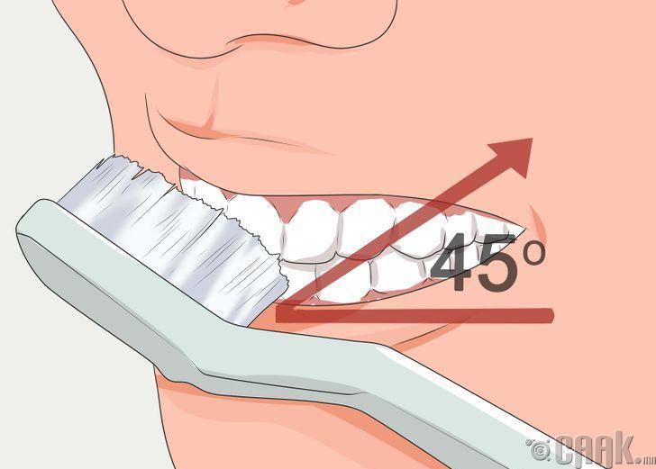 Шүдээ угаах