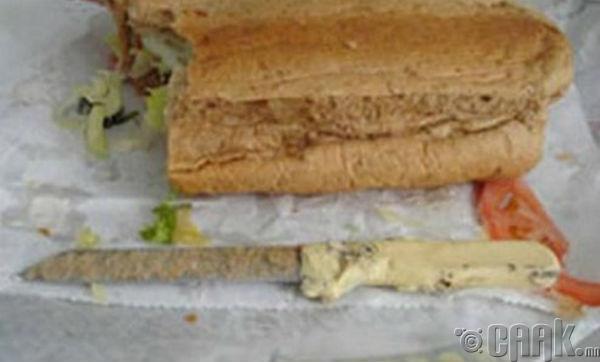 """""""7 инчийн урттай хутган сэндвич"""""""