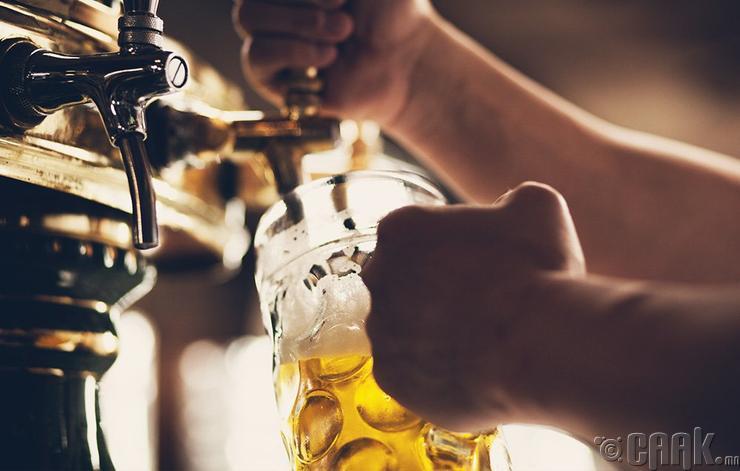 Өмнөх өдөр нь согтууруулах ундаа хэтрүүлэн хэрэглэх