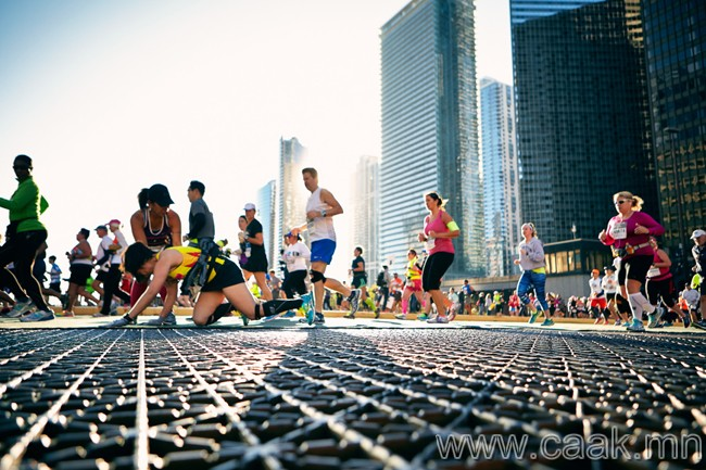 Гүйлтийн тэмцээнд оролц