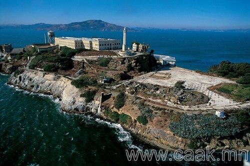 Alcatraz арлын шорон