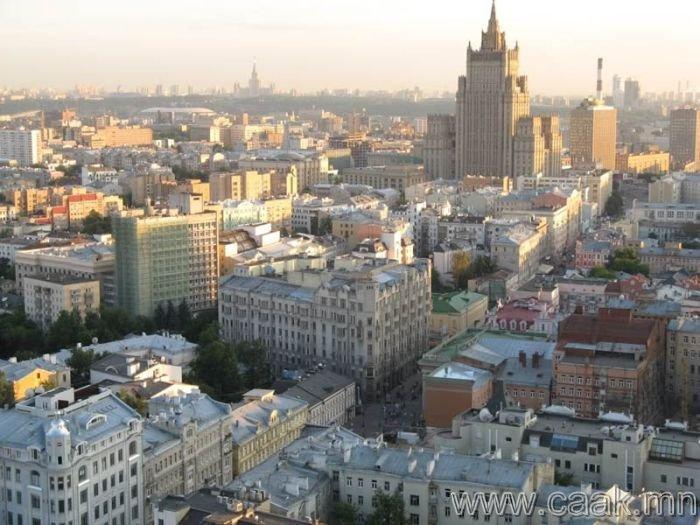 Москва. ОХУ - 3,273