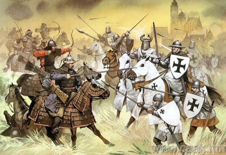 """Монгол цэргүүд үнэхээр дайснуудаасаа цэргийн тоогоор """"олон"""" байсан уу?"""