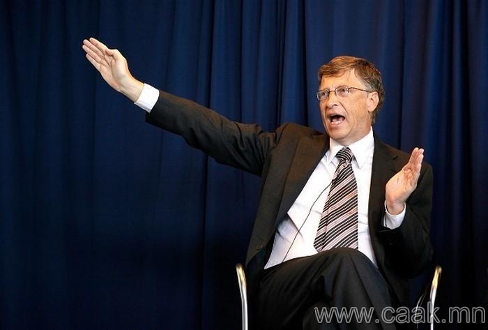Билл Гейтс ба бэлгэвч
