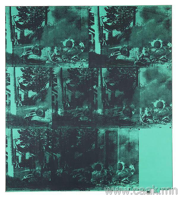 Энди Уорхол — Ногоон машины осол (1963)