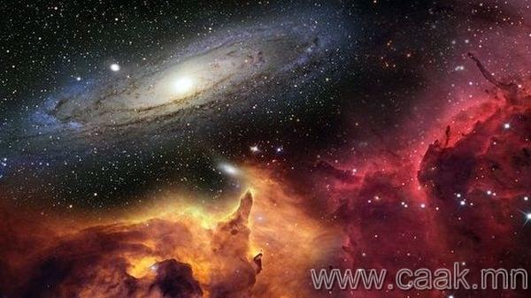Сансар огторгуй өөрөө өөрийгөө бүтээсэн