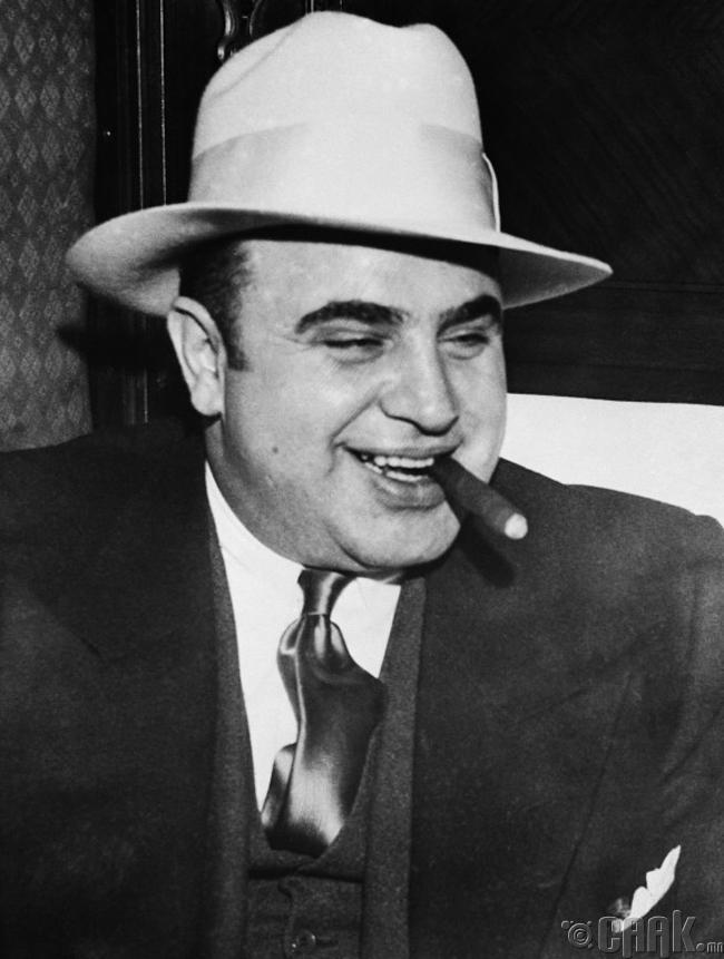 Аль Капоне - 1.3 тэрбум доллар