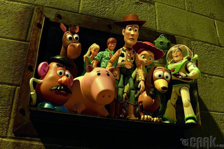"""""""Toy Story 3""""- Еврейчүүдийг хомроглон устгах"""