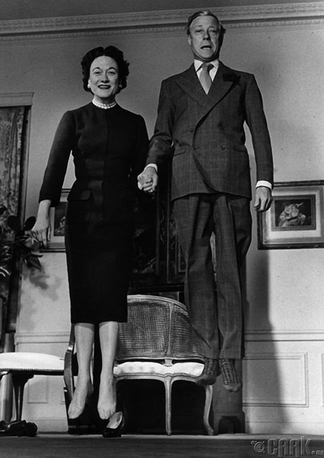 Виндсорын гүн болон гүнгийн ахайтан, 1959 он