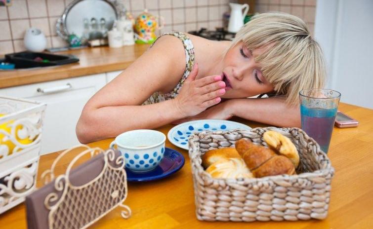 Хоол идсэний дараа унтах