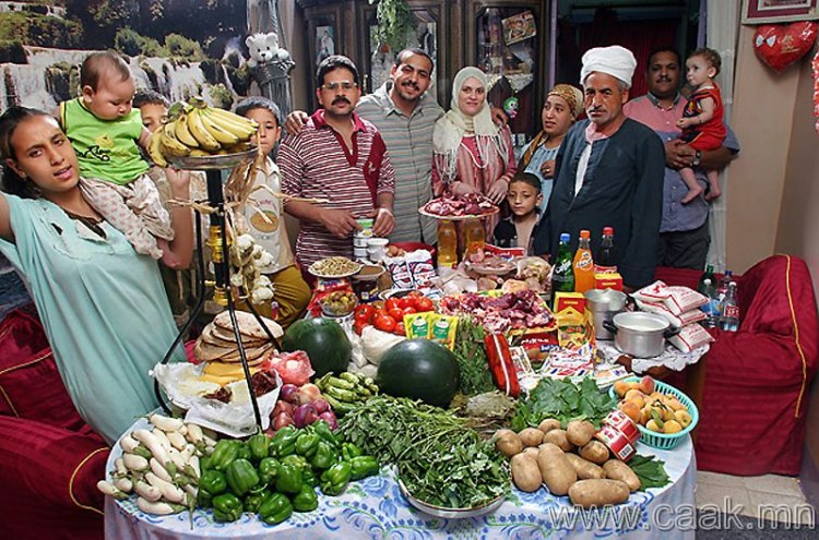 Египет: Каир дахь Ахмедын гэр бvл