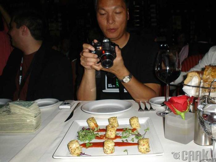 Хоолныхоо зургийг авах хориотой