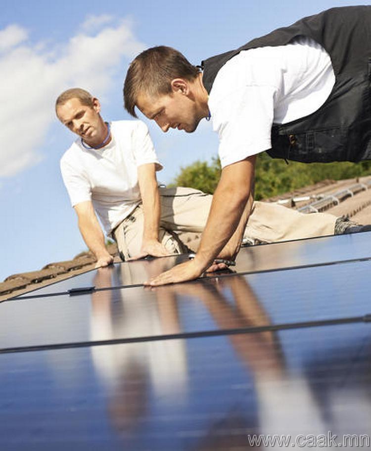 Нарны эрчим хүчээр ажилладаг технологийн зөвлөгч