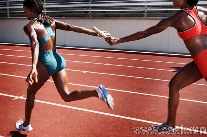 Олимпийн наадам ба бэлгэвч
