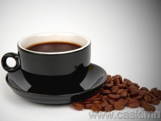 Кофе бие сэргээдэг.