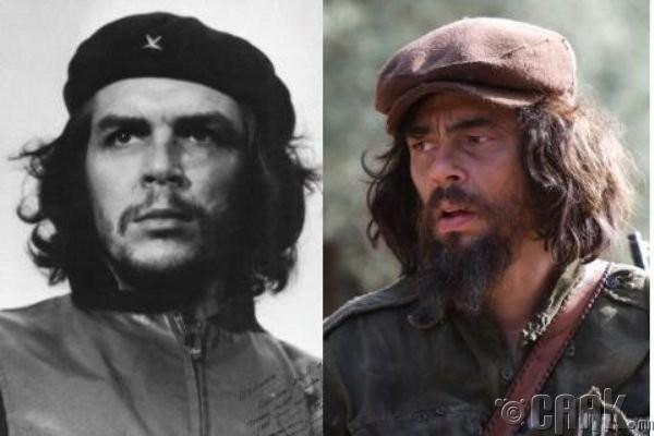 """Че Гевара (Che Guevara)- жүжигчин Бенисио дель Торо (Benicio del Toro) """"Che"""""""