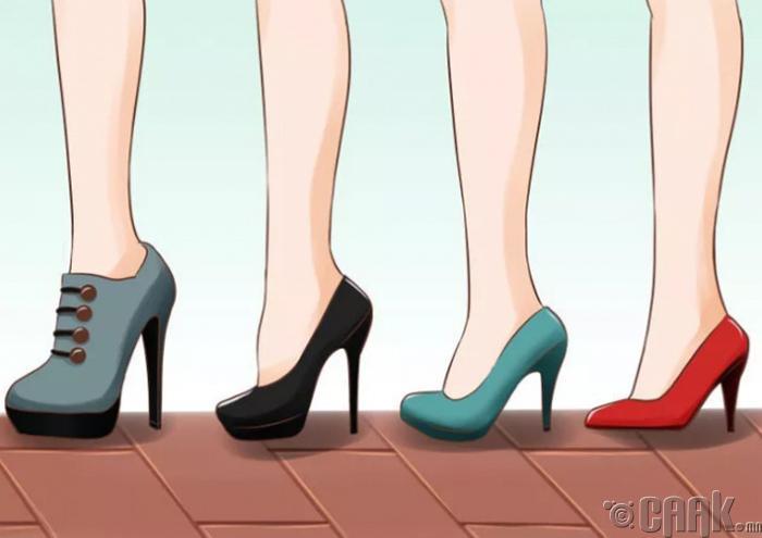 Зөв гутлыг сонгох