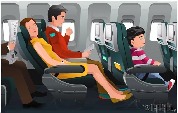 Нисэх онгоцонд үйлчлүүлэх үеийн эрсдэл
