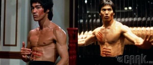 "Брюс Ли (Bruce Lee)- жүжигчин Жейсон Скотт Ли (Jason Scott Lee) ""Dragon: the Bruce Lee Story"""