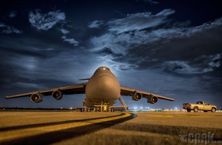Газардах үед онгоцны дугуй эвдрэхгүй
