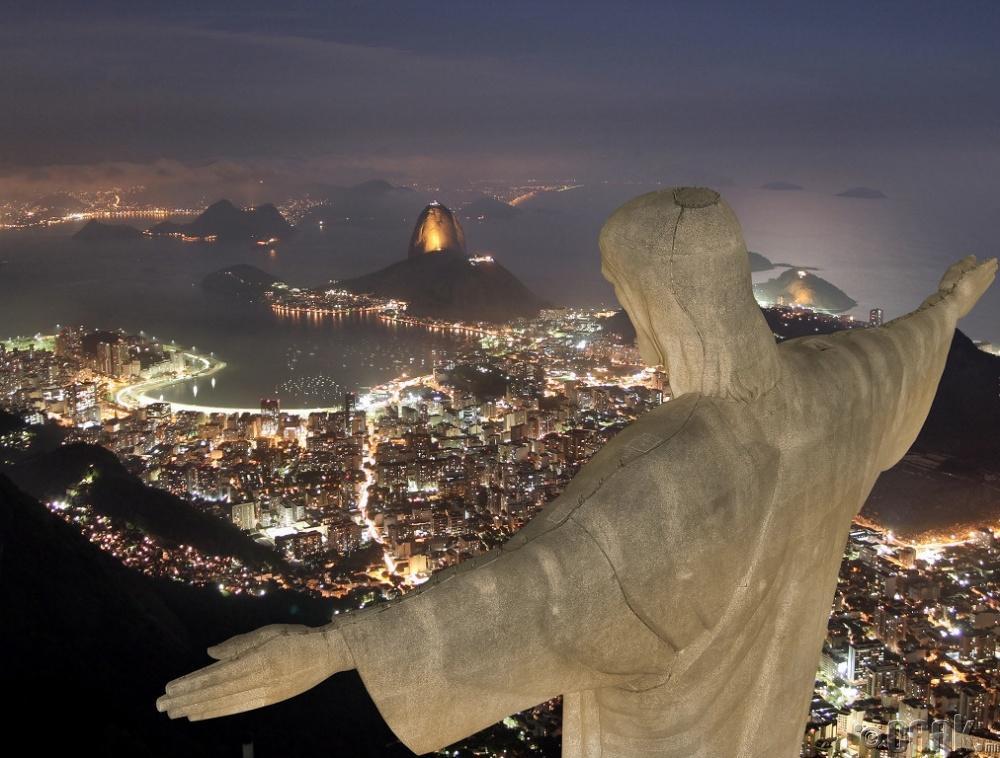 """Corcovado"" уул, Рио Де Жаньеро хот, Бразил улс"