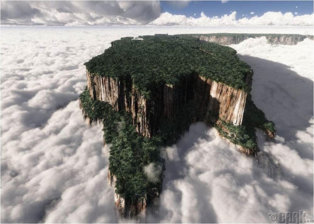 """""""Roraima"""" уул, Венесуэл"""