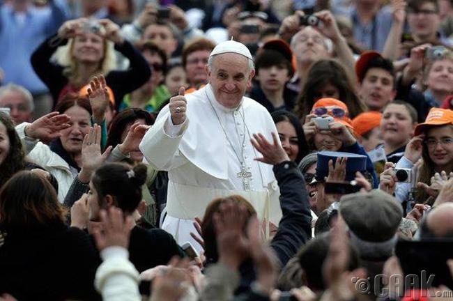 Ватиканы пап лам Францис (Pope Francis)