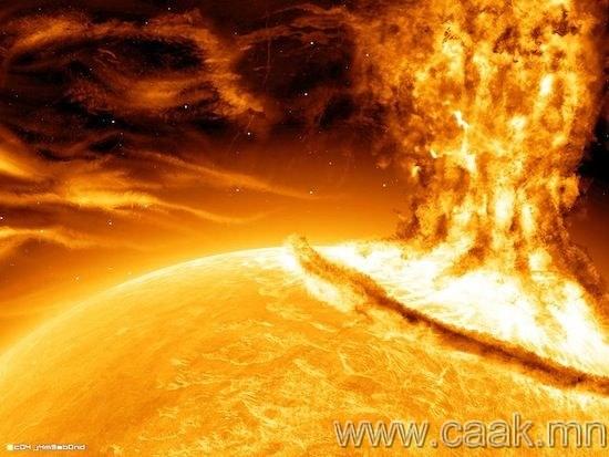 Нар руу шидэгдэх