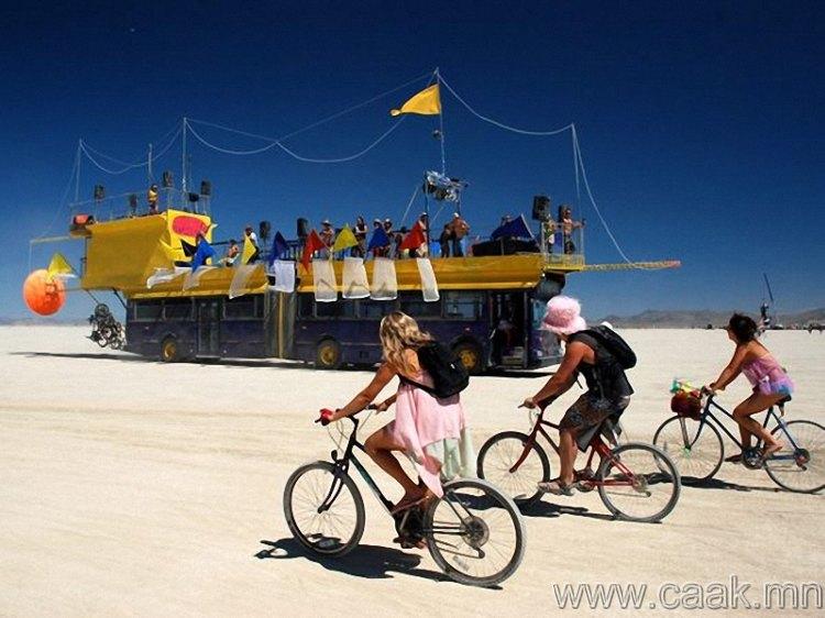 Невада мужийн Burning Man наадам.